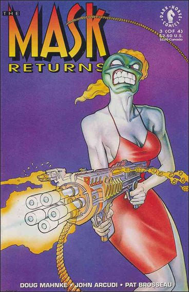 Mask Returns 3-A by Dark Horse