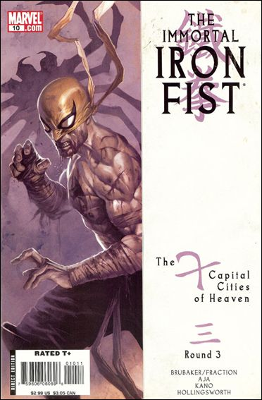 Immortal Iron Fist 10-A by Marvel