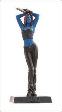 Classic Marvel Figurine Collection (UK) Mystique by Eaglemoss Publications