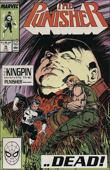 Punisher (1987) 16-A by Marvel