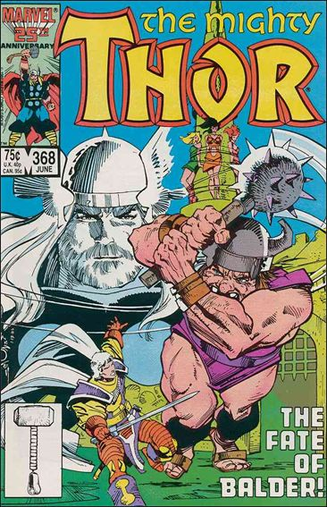 Thor (1966) 368-A by Marvel