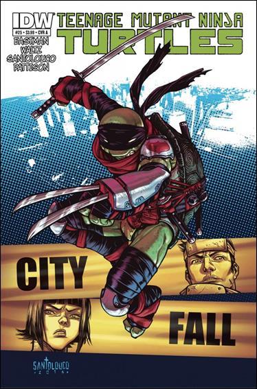 Teenage Mutant Ninja Turtles (2011) 25-A by IDW
