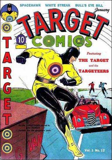 Target Comics (1940) 12-A by Novelty Press