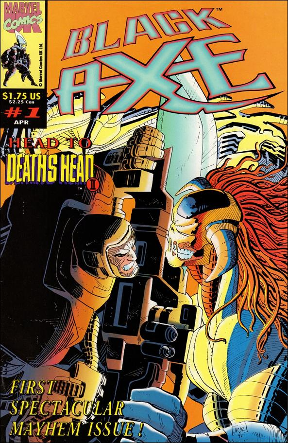 Black Axe (UK) 1-A by Marvel UK