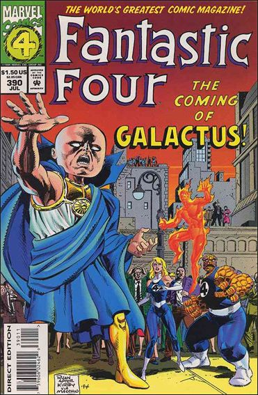Fantastic Four (1961) 390-A by Marvel