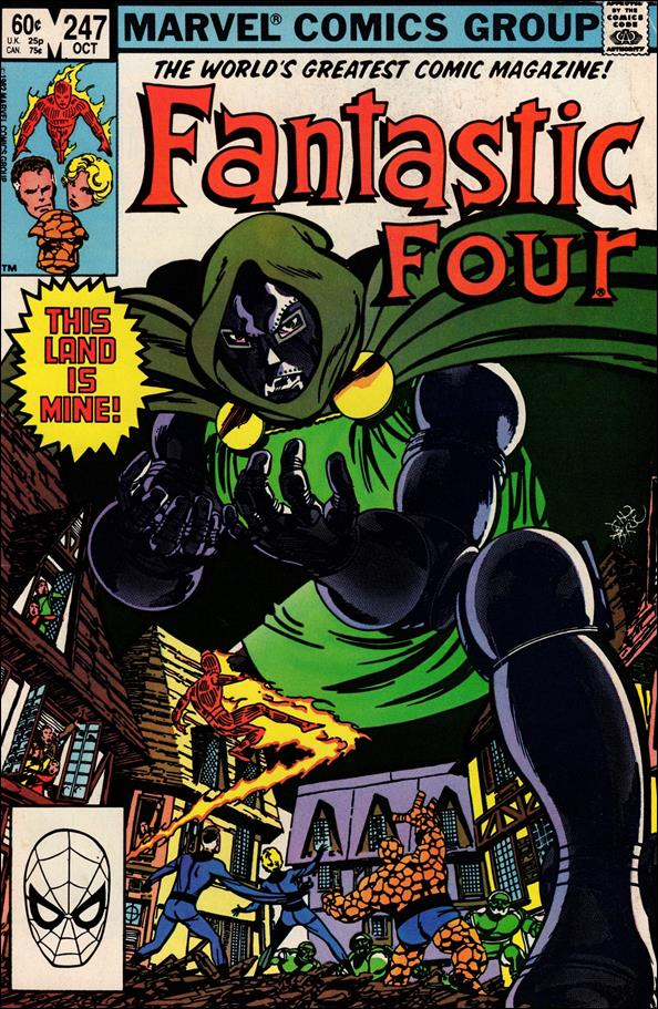 Fantastic Four (1961) 247-A by Marvel