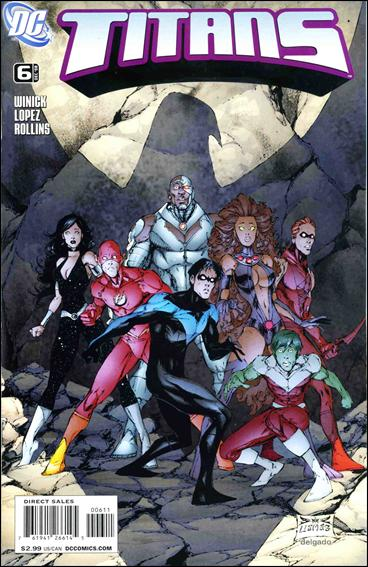 Titans (2008) 6-A by DC