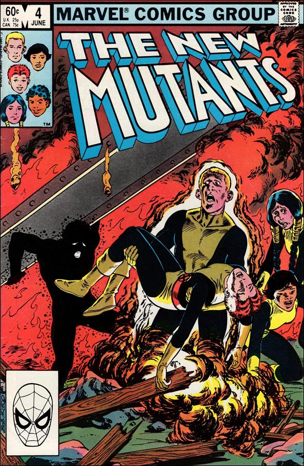 New Mutants (1983) 4-A by Marvel