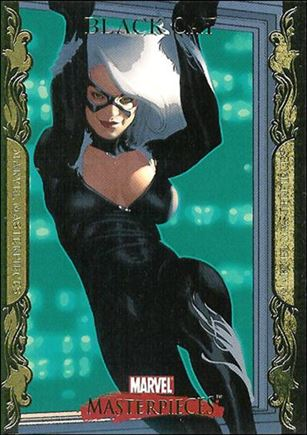 2007 Marvel Masterpieces (Parallel Gold Border Base Set) 9-A
