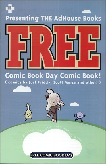 AdHouse Books FREE Comic Book Day Comic Book nn-A by AdHouse Books