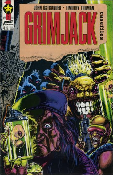 Grimjack Casefiles 5-A by First