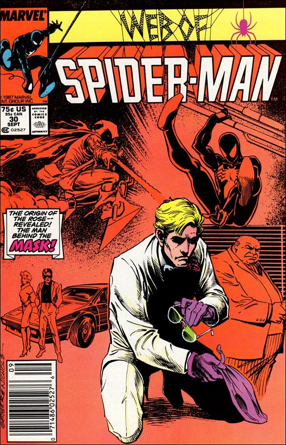Web of Spider-Man (1985) 30-A by Marvel