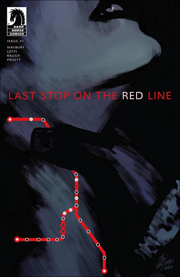 Last Stop on the Red Line 1-A by Dark Horse