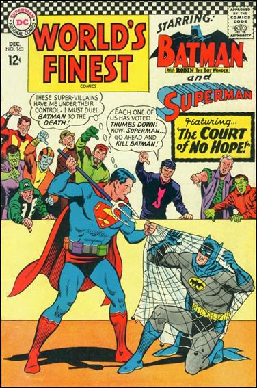 World's Finest Comics 163-A by DC