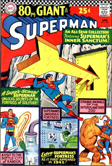 Superman (1939) 187-A by DC