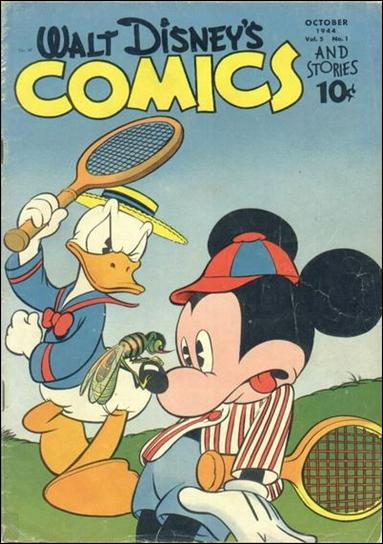 Walt Disney's Comics and Stories (1940) 49-A by Dell