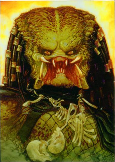 Aliens/Predator Universe (Finest Subset) 2 of 6-A by Topps