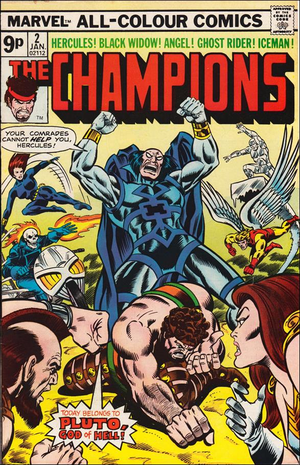 Champions (1975) 2-B by Marvel