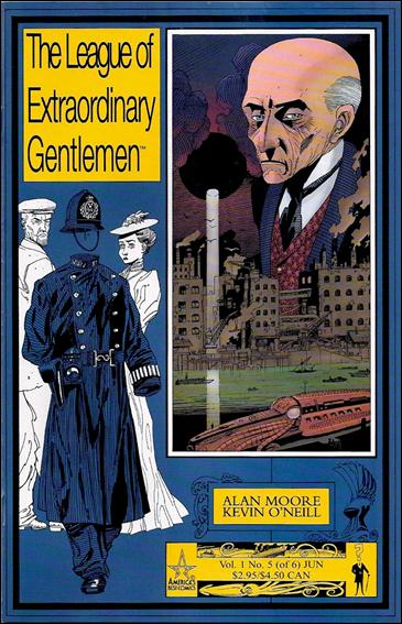 League of Extraordinary Gentlemen (1999) 5-A by America's Best Comics