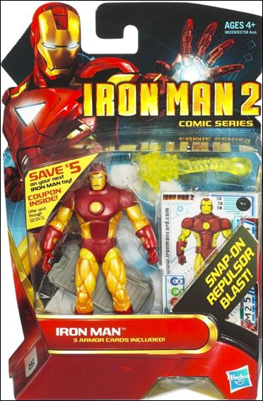 Iron Man 2 Iron Man - Repulsor Blast (Comic Series) by Hasbro