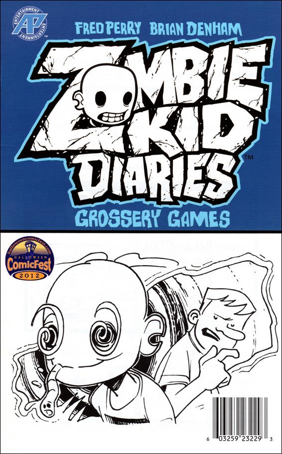 Zombie Kid Diaries: Grossery Games nn-A by Antarctic Press