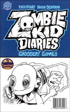 Zombie Kid Diaries: Grossery Games nn-A