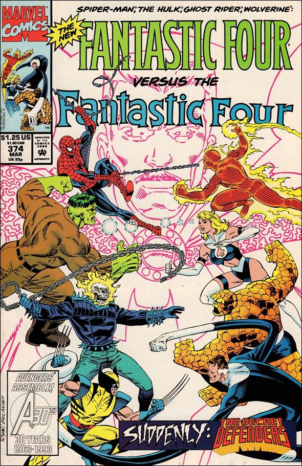 Fantastic Four (1961) 374-A by Marvel