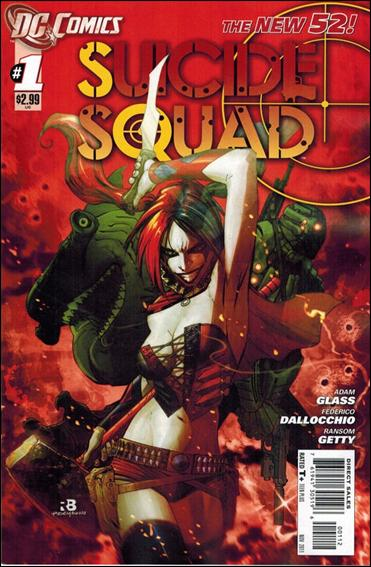 Suicide Squad (2011) 1-B by DC