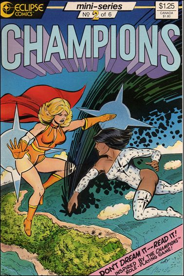 Champions (1986) 2-A by Heroic Publishing