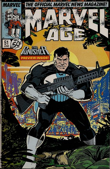 Marvel Age 51-A by Marvel