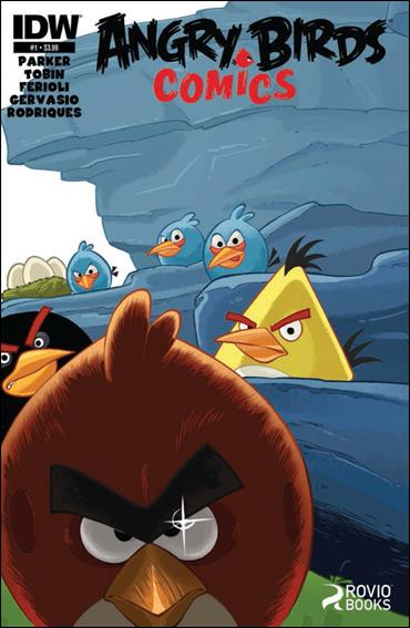 Angry Birds Comics 1-A by IDW