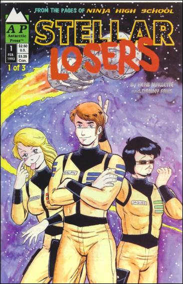 Stellar Losers 1-A by Antarctic Press