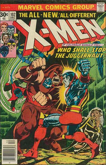 X-Men (1963) 102-A by Marvel