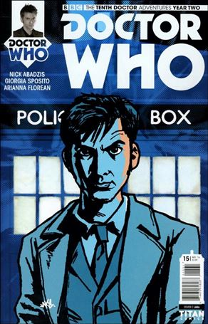Doctor Who: The Tenth Doctor Year Two 15-C