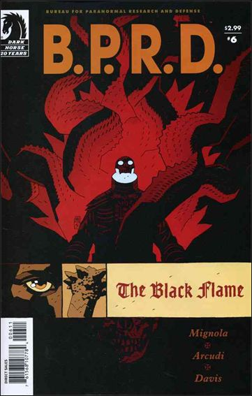 B.P.R.D.: The Black Flame 6-A by Dark Horse