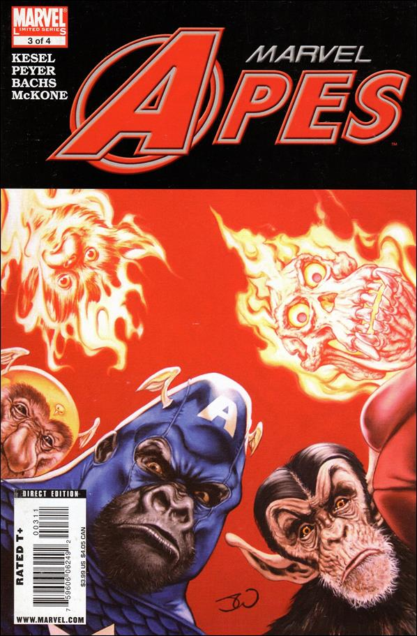 Marvel Apes 3-A by Marvel