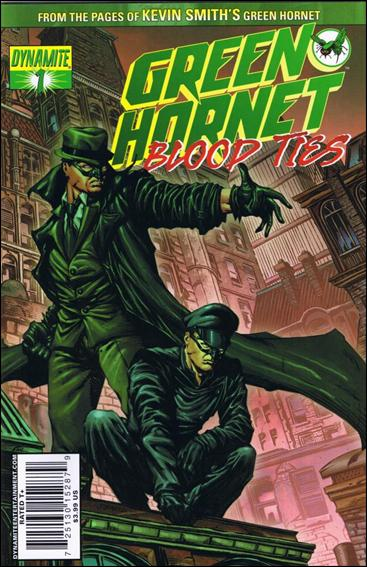Green Hornet: Blood Ties 1-A by Dynamite Entertainment