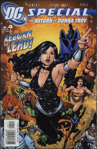 DC Special: The Return of Donna Troy 4-A by DC