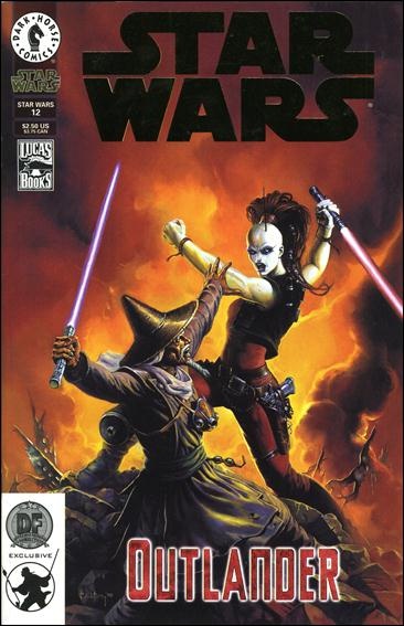 Star Wars/Star Wars Republic 12-B by Dark Horse
