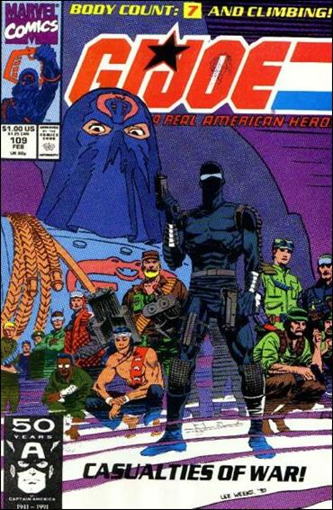 G.I. Joe: A Real American Hero 109-A by IDW