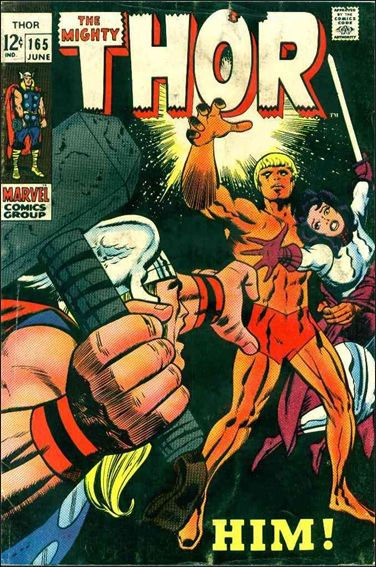 Thor (1966) 165-A by Marvel
