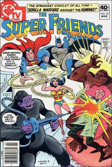 Super Friends (1976) 30-A by DC