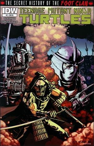 Teenage Mutant Ninja Turtles: The Secret History of the Foot Clan 2-B by IDW