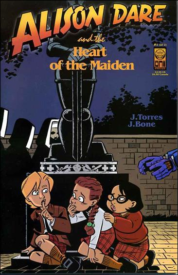 Alison Dare and the Heart of the Maiden 1-A by Oni Press