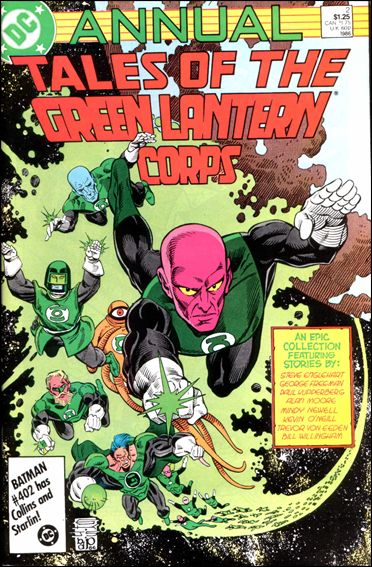 Tales of the Green Lantern Corps Annual 2-A by DC