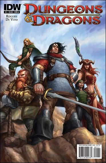 Dungeons & Dragons 1-A by IDW
