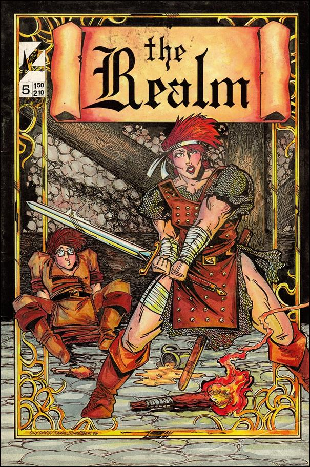 Realm (1986) 5-A by Arrow
