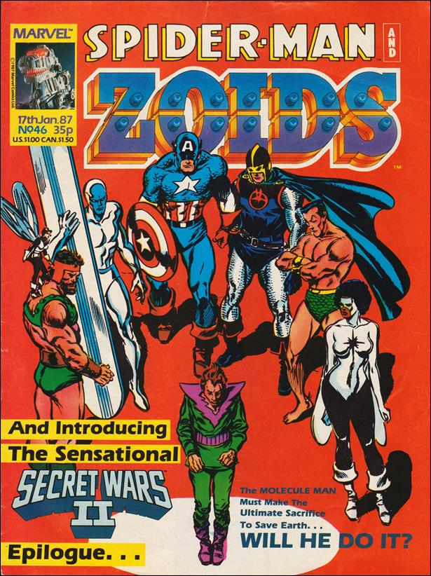 Spider-Man and Zoids (UK) 46-A by Marvel UK