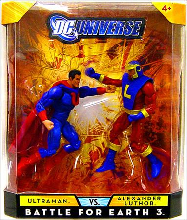 DC Universe Classics (2-Packs) Ultraman vs Alexander Luthor (Battle for Earth 3) by Mattel