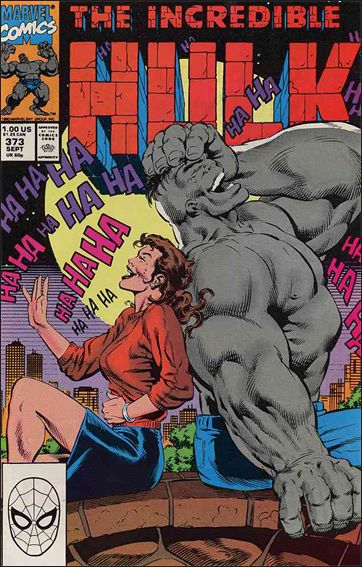 Incredible Hulk (1968) 373-A by Marvel